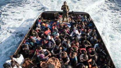 Libische kustwacht onderschept 315 migranten op zee
