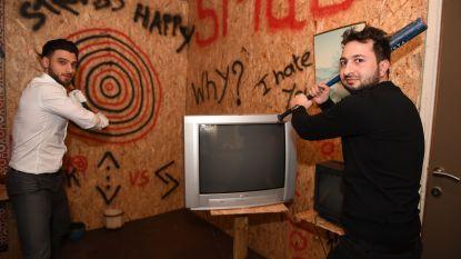 Nu ook in Leuven: sla alles in de vernieling in de 'Smash Room'