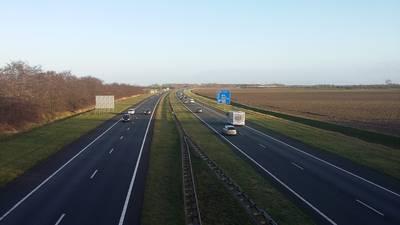 Verkeershinder verwacht op A58 tussen knooppunt Markiezaat en Rilland