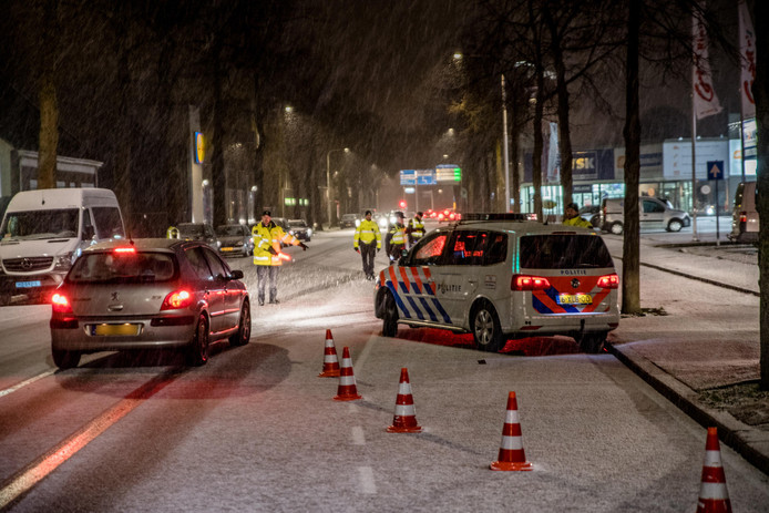 Alcoholcontrole in Tilburg