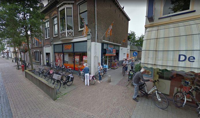 De supermarkt aan de Ooipoortstraat.