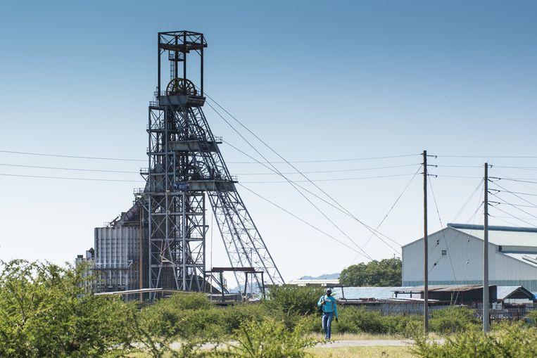 Grondstoffenmijnen in Zuid-Afrika kunnen beperkt aan de slag.  Beeld Bloomberg via Getty Images