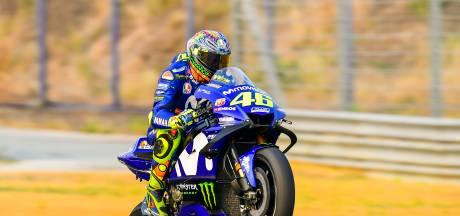Veteraan Rossi nog lang niet verzadigd