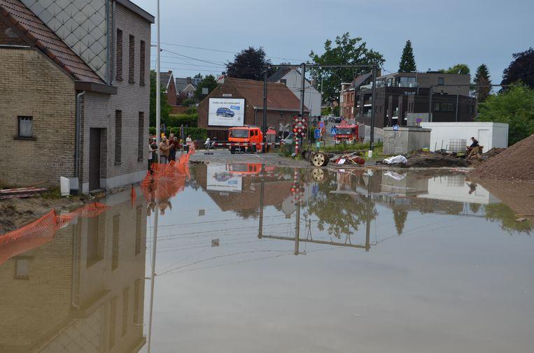Etienne kampte al voor de derde keer met wateroverlast in zijn woning.