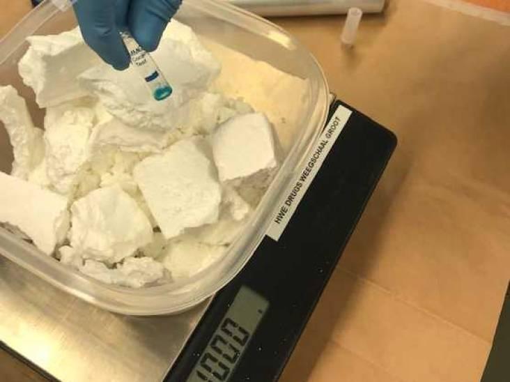 Kilo cocaïne en ruim negenduizend euro contant geld gevonden in woning Helmond