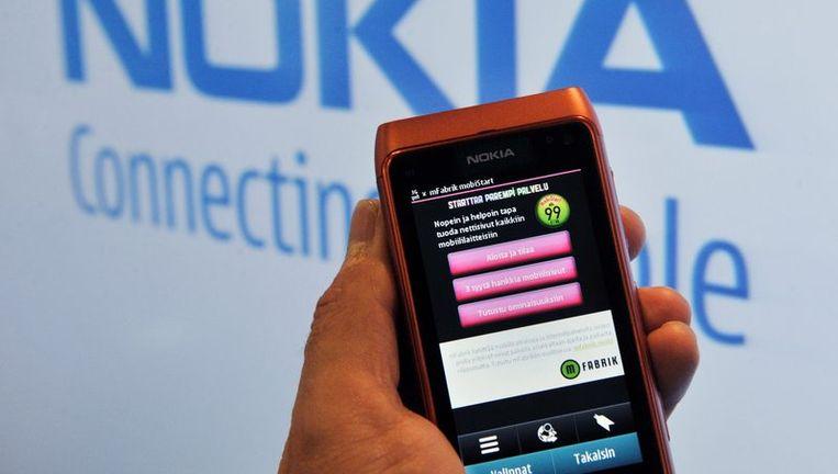 De Nokia N8 Beeld afp
