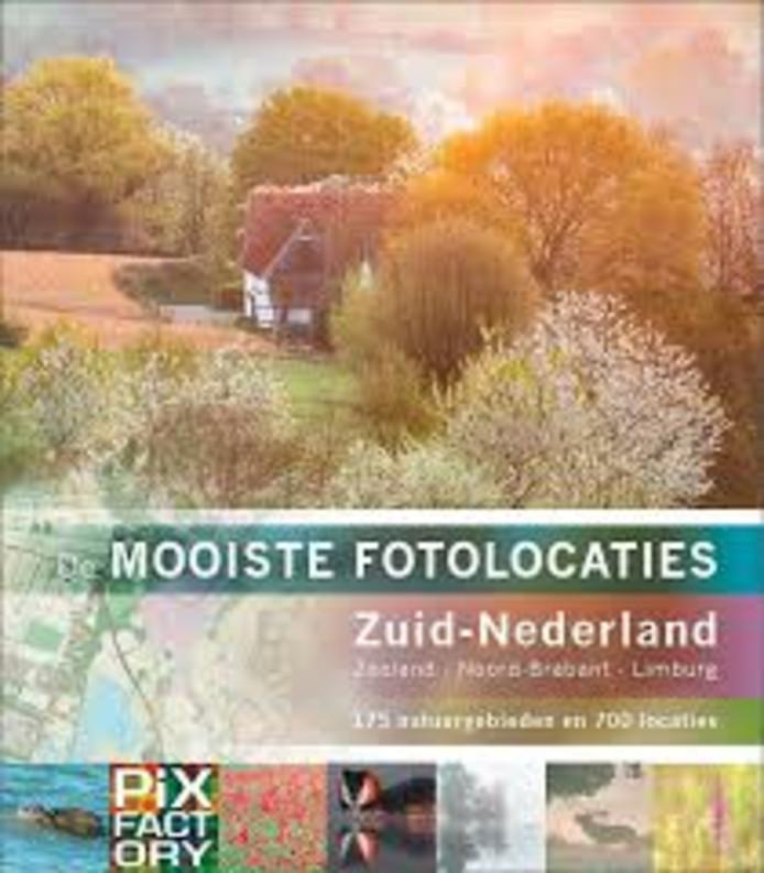 De cover van het boek over de mooiste fotolocaties.