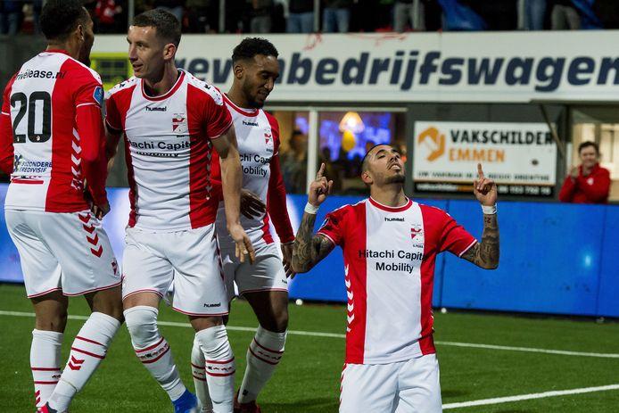 Sergio Peña was met drie assists en een treffer de man van de wedstrijd.