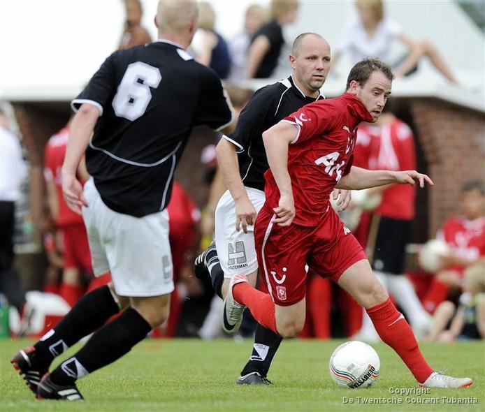 Bart Buysse toen hij nog bij FC Twente voetbalde.