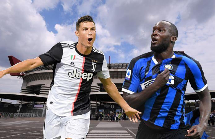 Cristiano Ronaldo en Romelu Lukaku.