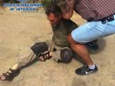 Spaanse politie deelt beelden van arrestatie Brech