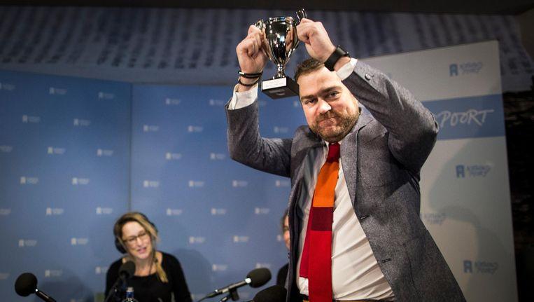 Vorig jaar wees de pers staatssecretaris Klaas Dijkhoff van Asielzaken aan als winnaar. Beeld null