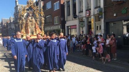1.600 vrijwilligers op Hanswijkprocessie