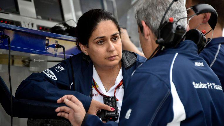 Teambaas van Sauber, Monisha Kaltenborn Beeld epa