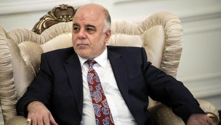 Haider al-Abadi. Beeld reuters