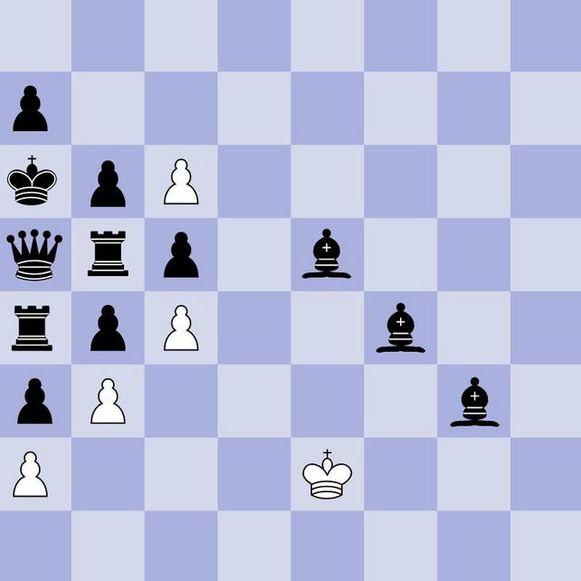 Het fameuze schaakprobleem van Penrose: hoe kan wit nog een patstelling uit de brand slepen? Of zelfs winnen?
