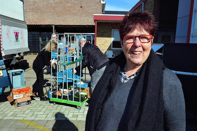 Corry Damen van voedselbank Goed Ontmoet.