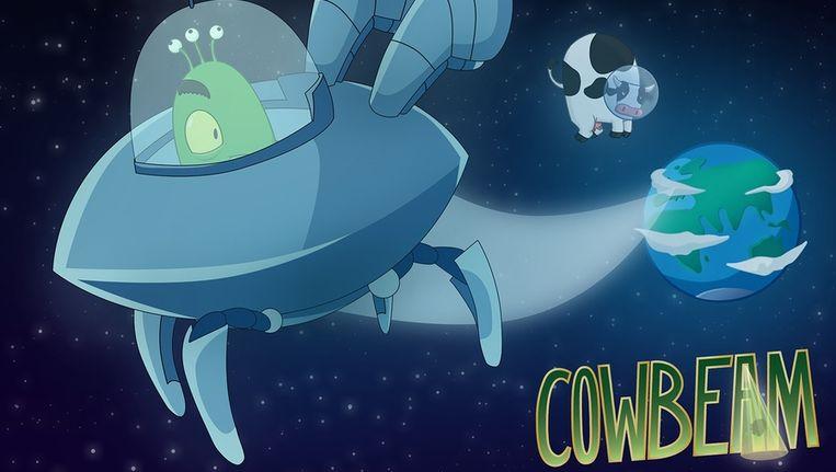 Cowbeam, een nieuw spel voor de iPhone en iPad van Digital Dreams in Utrecht. Beeld null