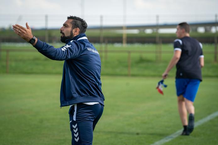 Arnhemia- trainer Mo Edan.