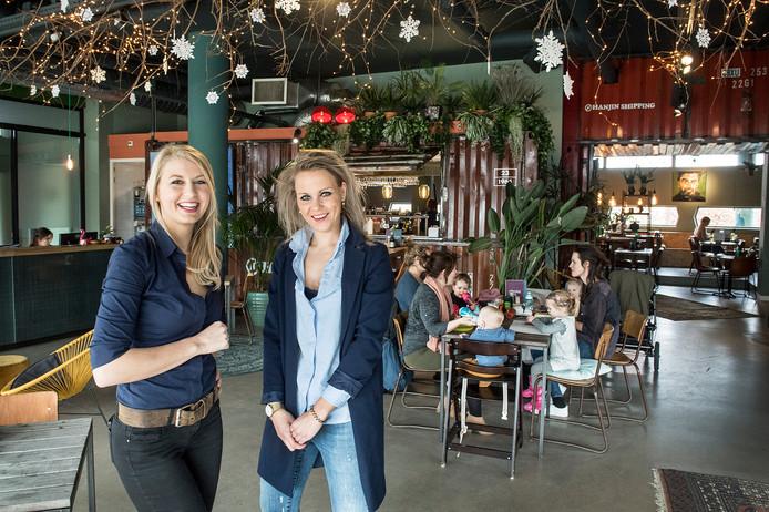 Anke Tissen (van het restaurant) en Feia Rademaker (hotel) in Hotel Nimma.