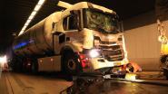 VIDEO. Opnieuw hele dag chaos in Beverentunnel door reeks ongevallen met vrachtwagens