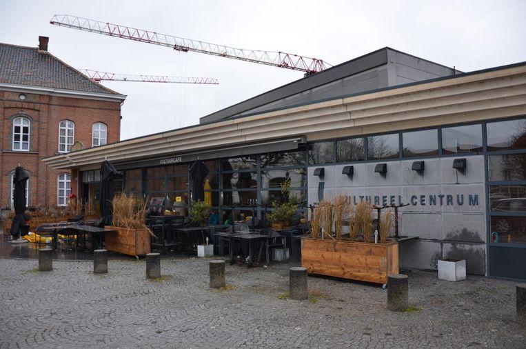 Het Cultureel Centrum ondergaat vanaf 1 april ingrijpende verbouwingswerken.