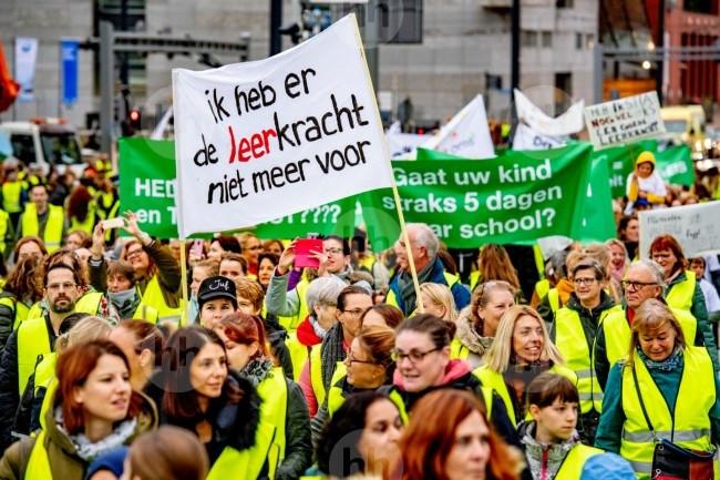Onder leerkrachten in de gemeente Hellendoorn is veel animo om deel te nemen aan de volgende landelijke onderwijsstaking op 30/31 januari.