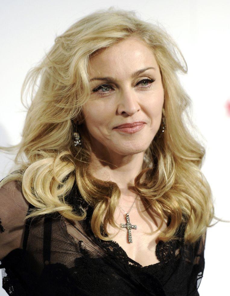 Krug-lover Madonna. Beeld AP