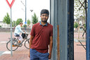 Sri Vardhen uit India, student aan de TU in Delft, is in afwachting om zijn studie te kunnen afronden.