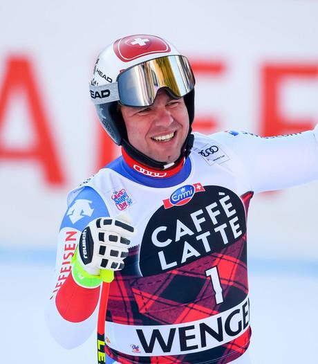 Skiër Feuz wint afdaling voor thuispubliek in Wengen