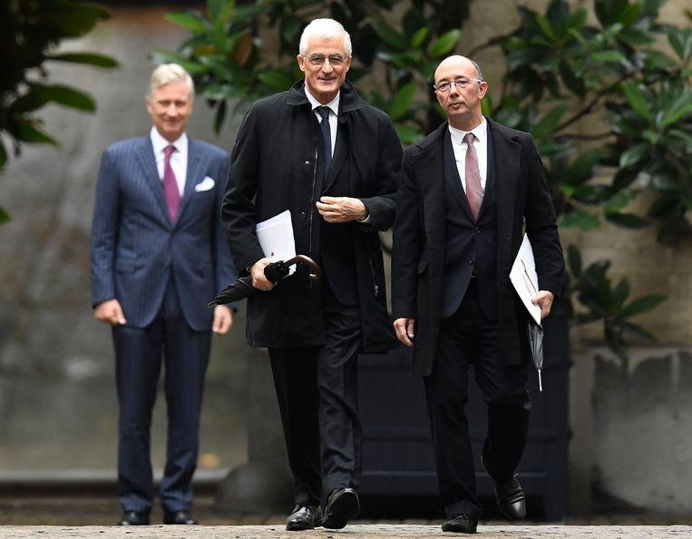 Geert Bourgeois (N-VA) en Rudy Demotte (PS) verkennen sinds drie weken of een regering met hun beide partijen mogelijk is.