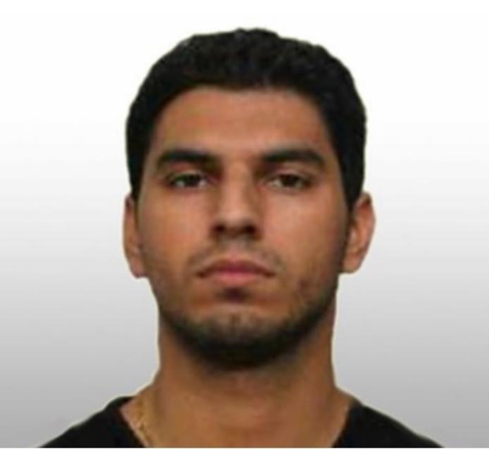 De voortvluchtige Shahin Gheiybe.