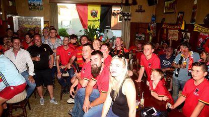 Café Drie Koningen uit de bol voor de Rode Duivels