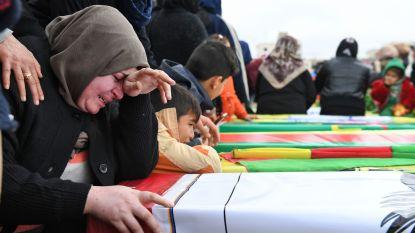 "Turkije: ""14 doden en 130 gewonden in Afrin"""