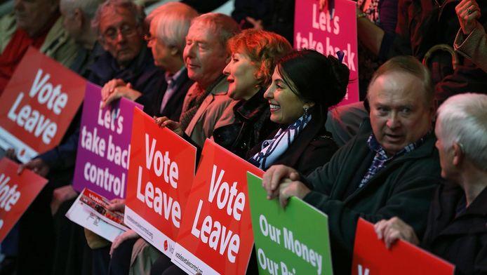 Campagne in Groot-Brittannië voor het referendum op 23 juni, waarbij het volk laat weten of ze in de EU willen blijven of niet.