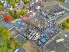 Brand in Veldhoven: 'Een grote vuurzee in de achtertuin'