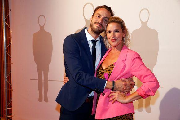 Guga Baúl met zijn partner Tine Embrechts