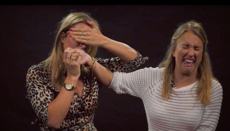 Lyn en Kat Kerkhofs in 'Girls Talk'