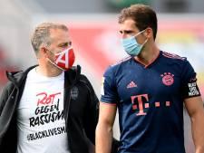 À un pas du titre, le Bayern manifeste contre le racisme