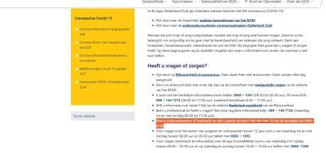 GGD Gelderland-Zuid verwijst zorgmedewerkers en leraren naar Rookwinkel.nl: 'Beetje amateuristisch'