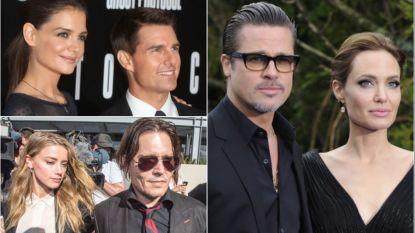 Amber Heard en Johnny Depp zijn niet de enigen: dit waren de pittigste vechtscheidingen van Hollywood