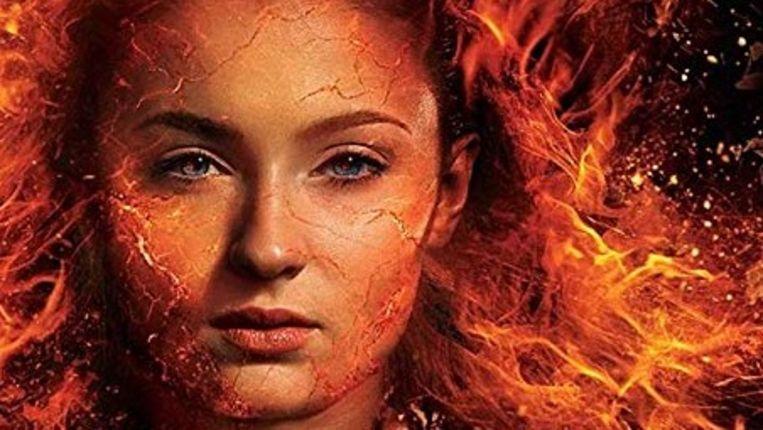 Sophie Turner in het promomateriaal van 'X-Men: Dark Phoenix'.
