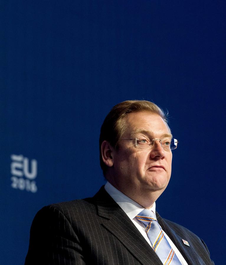 Minister Ard van der Steur (Justitie).