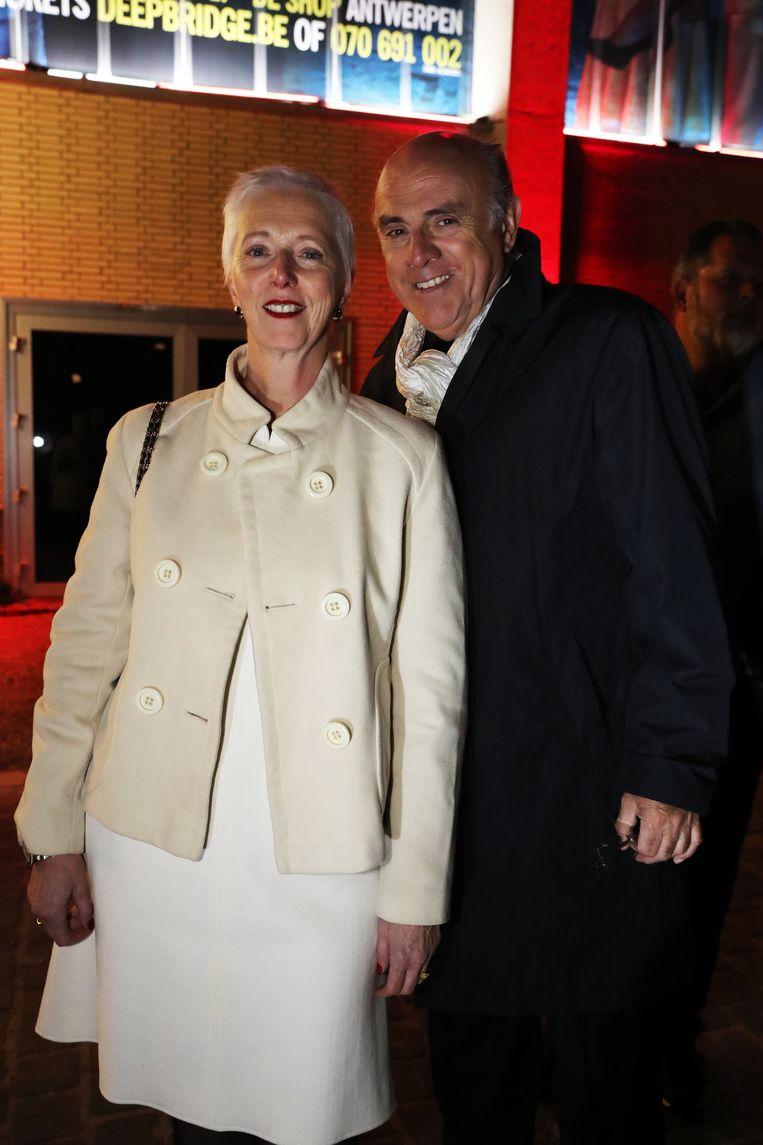 Herbert Flack en echtgenote Fabienne