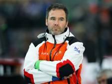Van Veen stapt op als schaatscoach van Duitsland