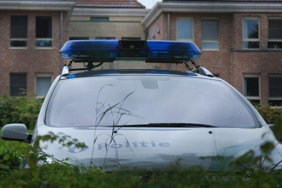 De politie kwam ter plaatse voor onderzoek