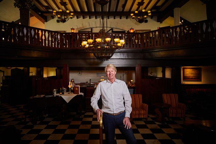 Uitbater Aad van der Stel van restaurant Old Dutch.