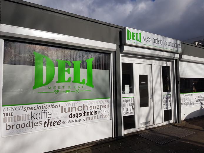 De Deli broodjeszaak aan de Industriekade in Breda.