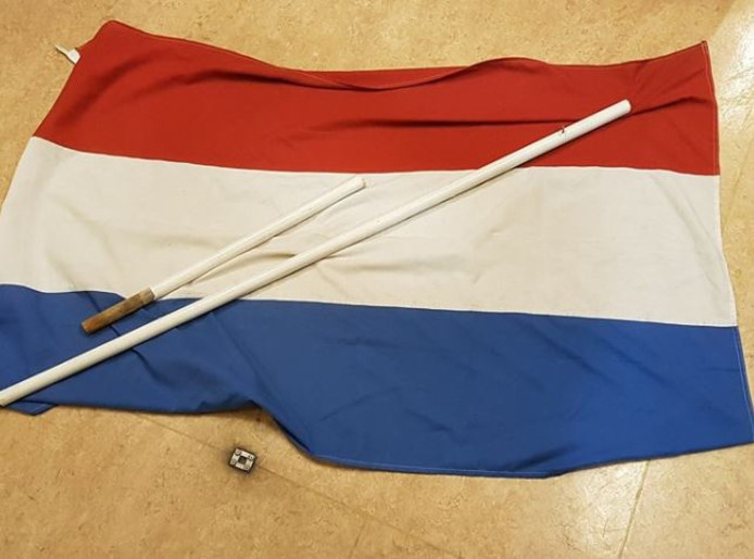 De vlag uit Rhenen.