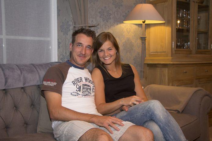 Andy Peelman stapt vandaag in het huwelijksbootje met Tine Kissling.
